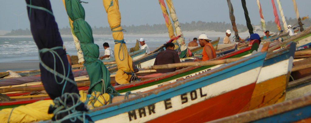 plage de Guajiru Nordeste Brésil