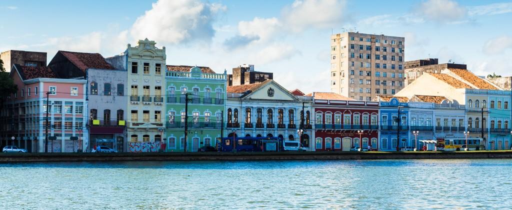 Recife venise tropicale