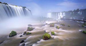 image travaillées chutes d'Iguaçu