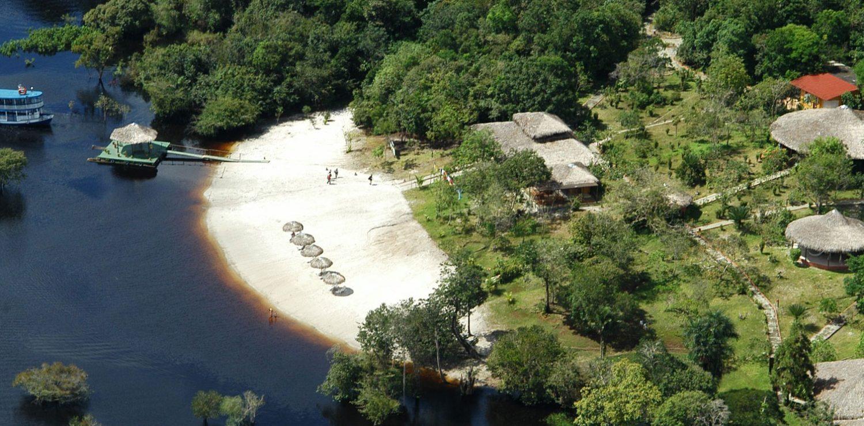 Amazon Eco park vue d'avion