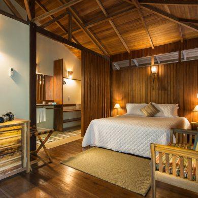 Amazonie intérieur bungalow Anavilhanas lodge