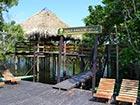 Amazonie paillote accueil Juma Lodge