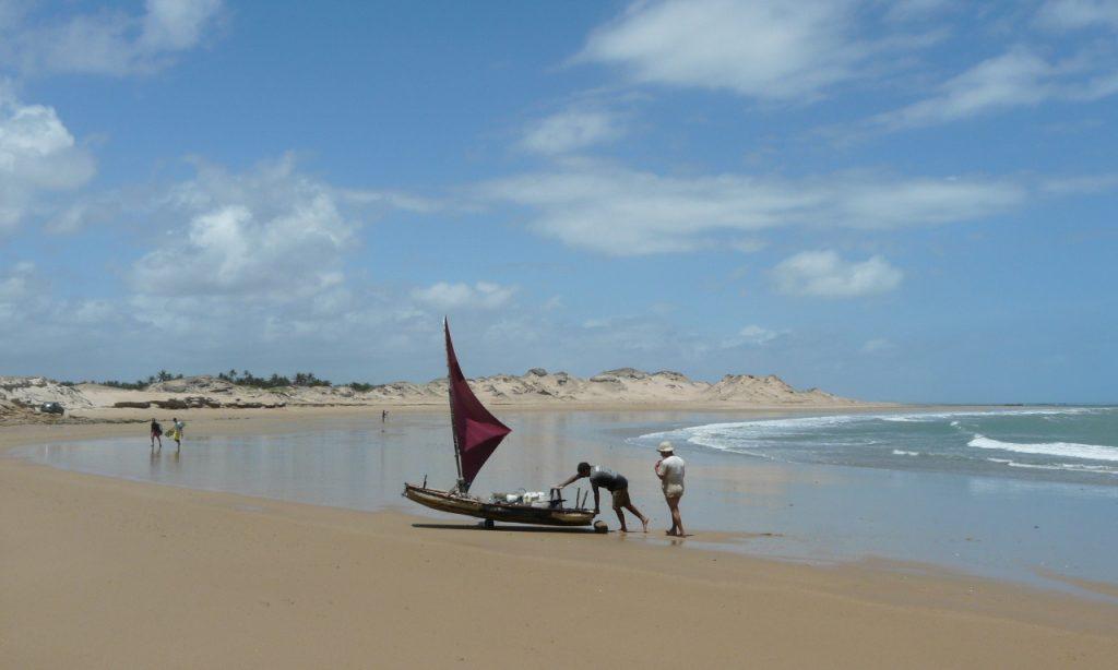 barque Icarai Nordeste Brésil