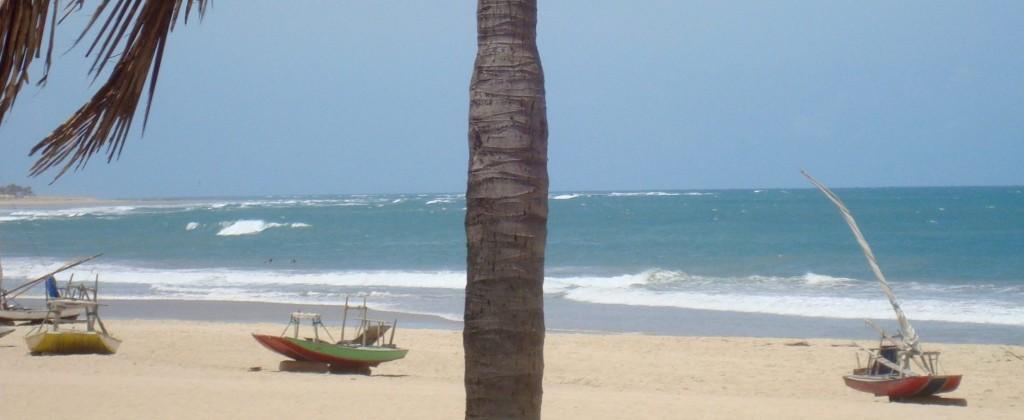 barques devant Rede Beach Resort Guajiru