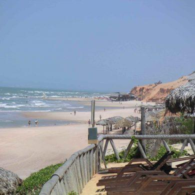 Canoa Quebrada plage ventée