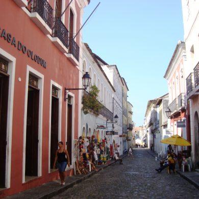 commerce de souvenirs Pelourinho Salvador de Bahia