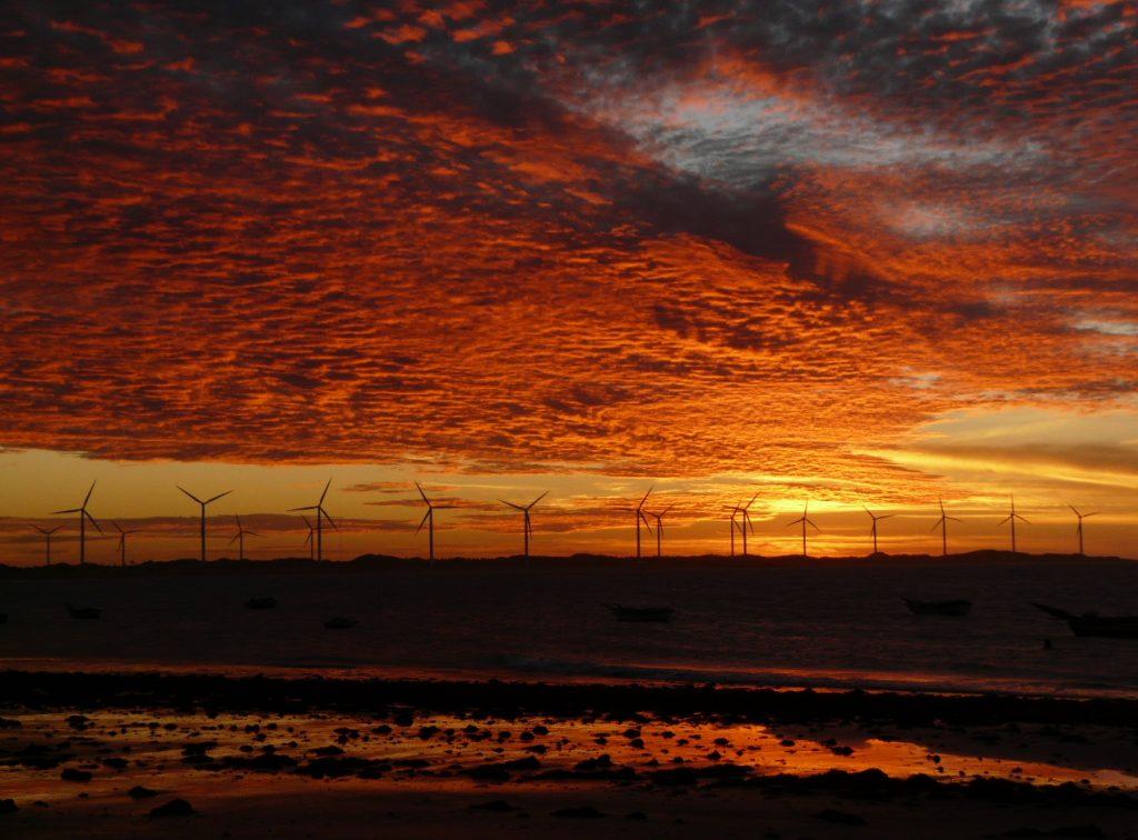 coucher de soleil Icarai Nordeste Brésil