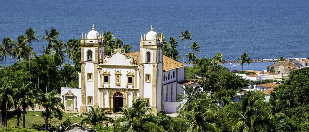 Eglise face à la mer Olinda