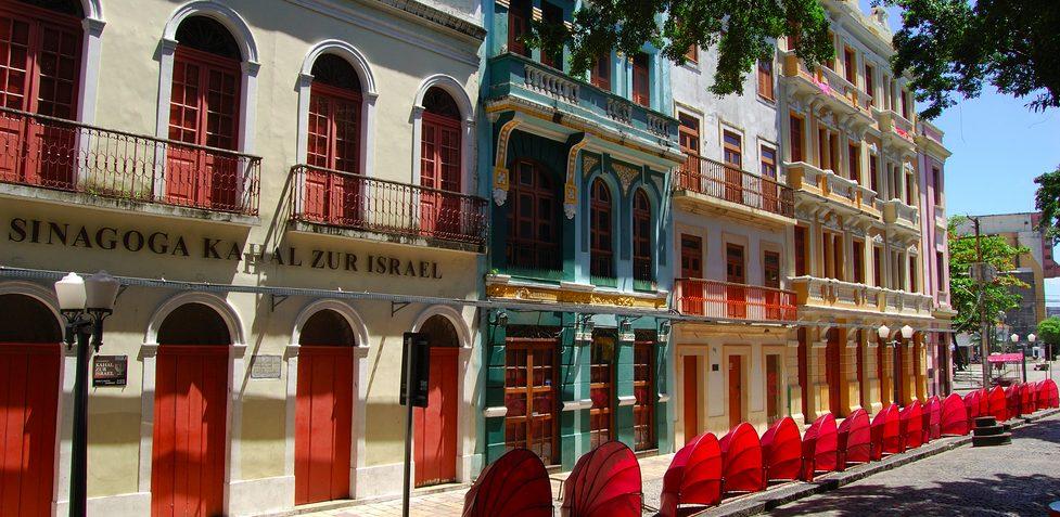 façade centre historique Recife