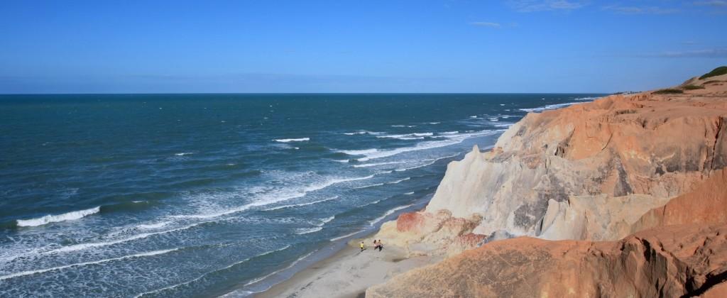 falaises blanches Morro Branco