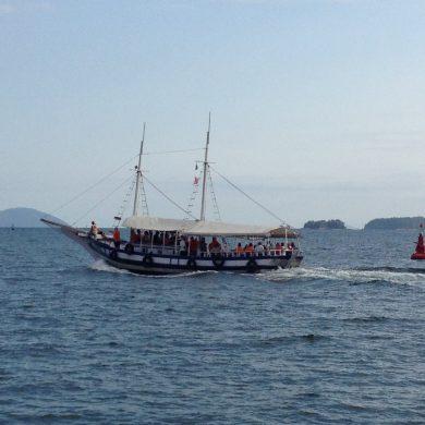 goélette pour Ilha Grande