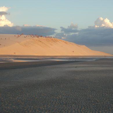 Jericoacoara rituel  coucher du soleil sur la grande dune