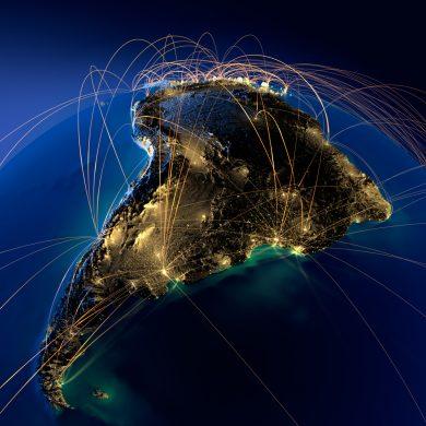Liaisons aériennes au Brésil