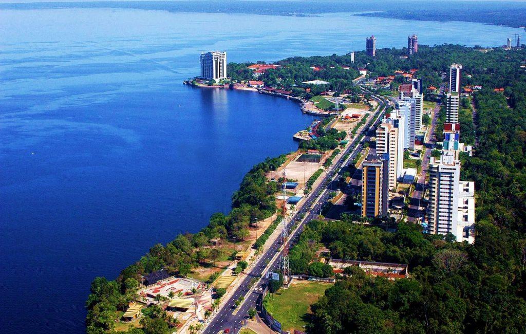 Manaus quartier de ponta negra