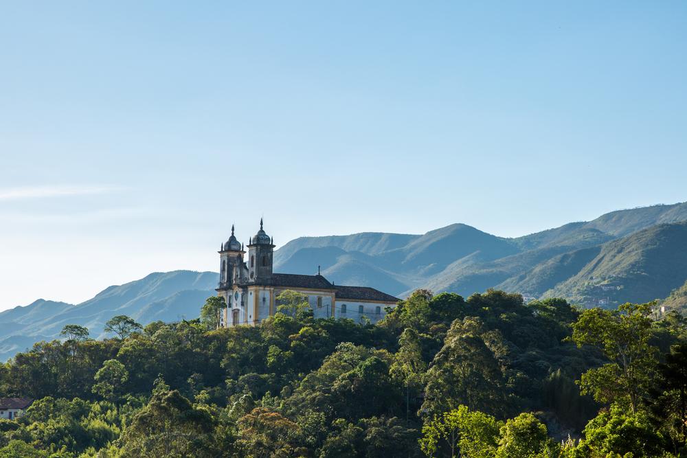 Minas gerais Ouro Preto eglise Sao Francisco de Paula