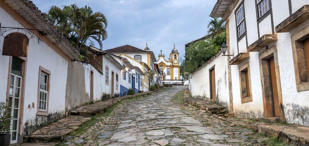Minas gerais rue tres pentue Tiradentes