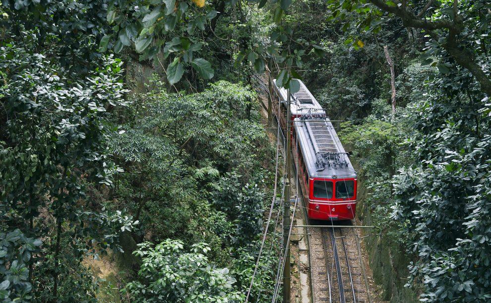 petit train Corcovado Rio de Janeiro
