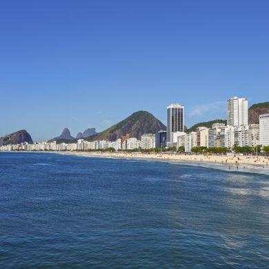 plage de leme Rio de Janeiro
