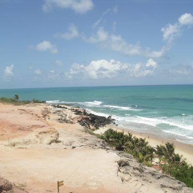 plage sur le chemin de Natal