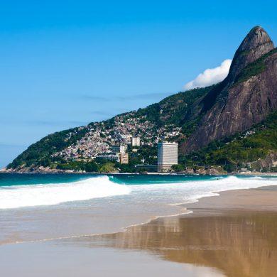 Rio de Janeiro le bord de mer à Leblon