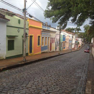 ruelle pentue de Olinda