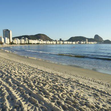 sable plage de Copacabana