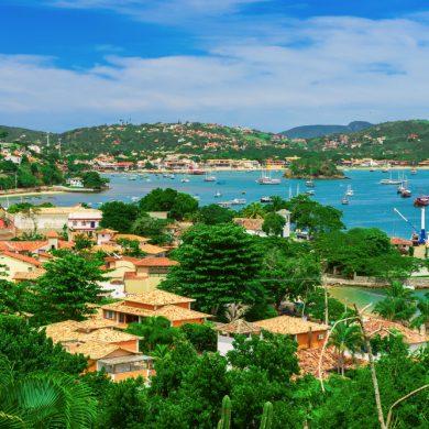 vue panoramique de Buzios