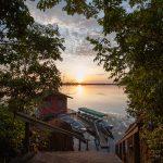 Amazonie Anavilhanas lodge embarcadère