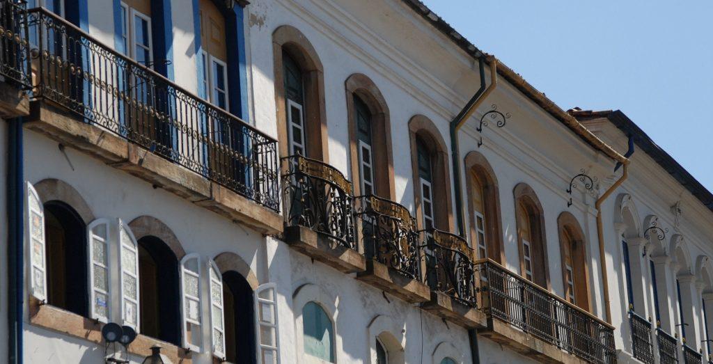 balcons fer forgé Ouro Preto Minas Gerais