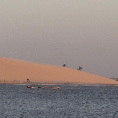bas de la grande dune Jericoacoara