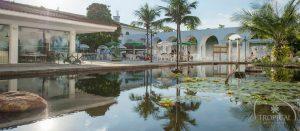 bassin nénuphar hotel Tropical Manaus