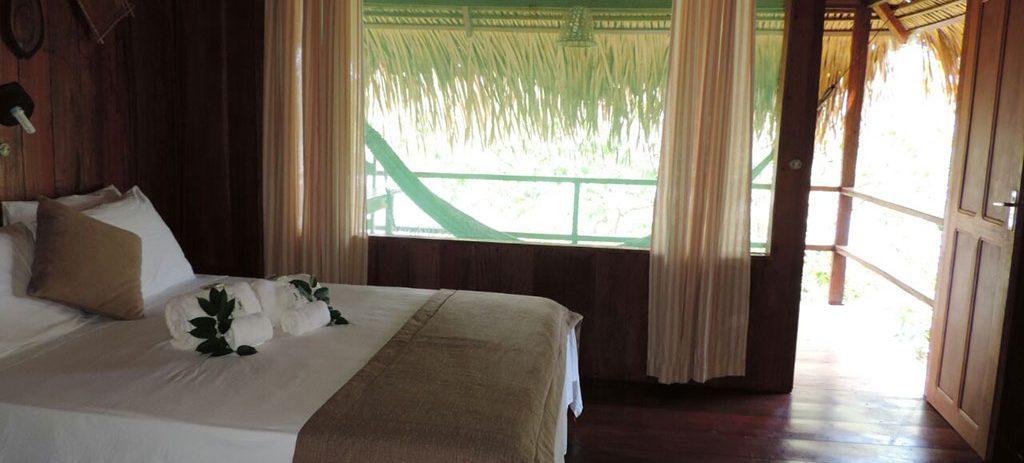 cabane Juma Lodge Amazonie