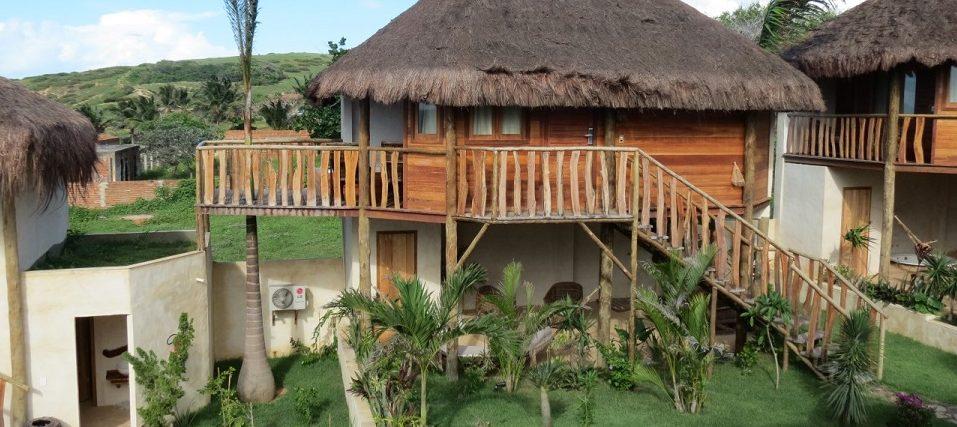 bungalow luxe hotel Hurricane Jericoacoara