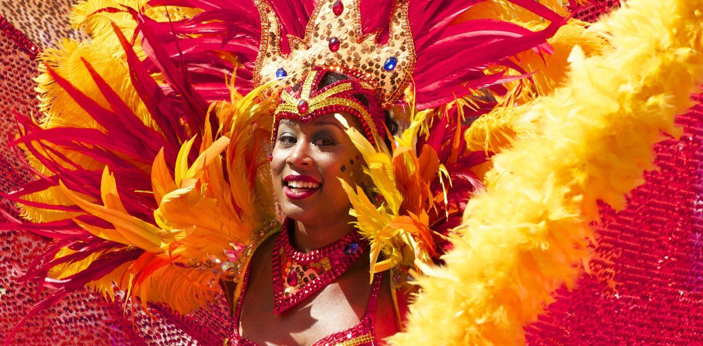 Carnaval de Rio magnifique costume
