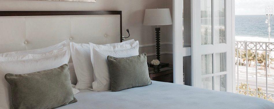 chambre balcon vue mer Hotel Copacabana Palace Rio