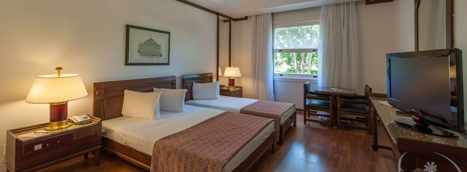 Chambre deux lits Hotel Tropical Manaus