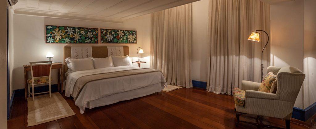 Chambre double hotel Solar do Rosario Ouro Preto