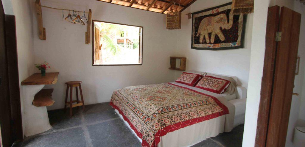 chambre double pousada Maresia Atins