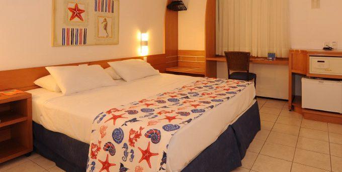 chambre lit double Hotel Sonata Fortaleza