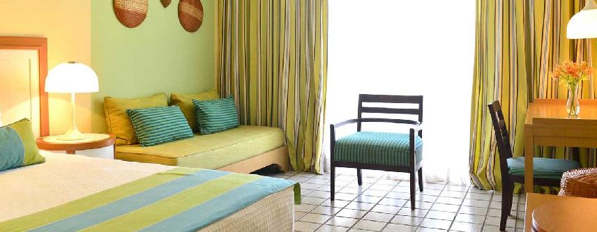 canapé et chambre Pestana Sao Luis