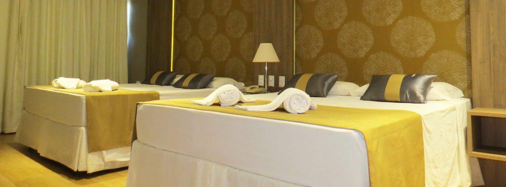 Chambre master quadruple Continental Inn Iguaçu