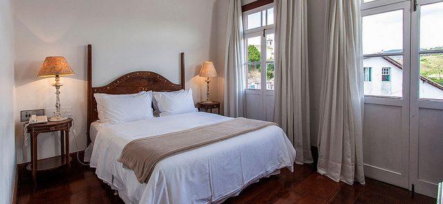 Hotel Solar do Rosario chambre avec terasse