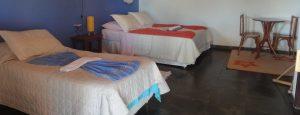 chambre simple pousada Santa Tereza Pantanal