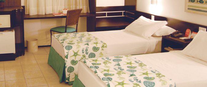chambre standard 2lits hotel Sonata Fortaleza