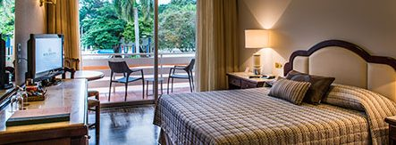 Chambre supérieure vue piscine Hotel Bourbon Iguaçu