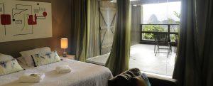 Chambre terrasse hotel Altos de Santa Tereza Rio de Janeiro