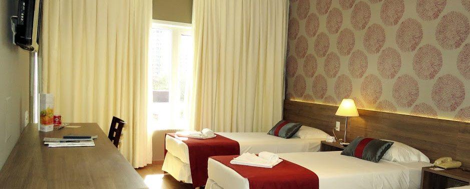 chambre triple Continental Inn Iguaçu
