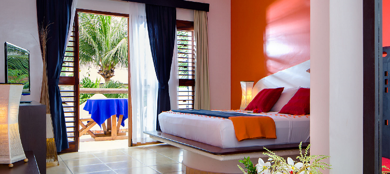 Chambre vue jardin My Blue hotel Jericoacoara