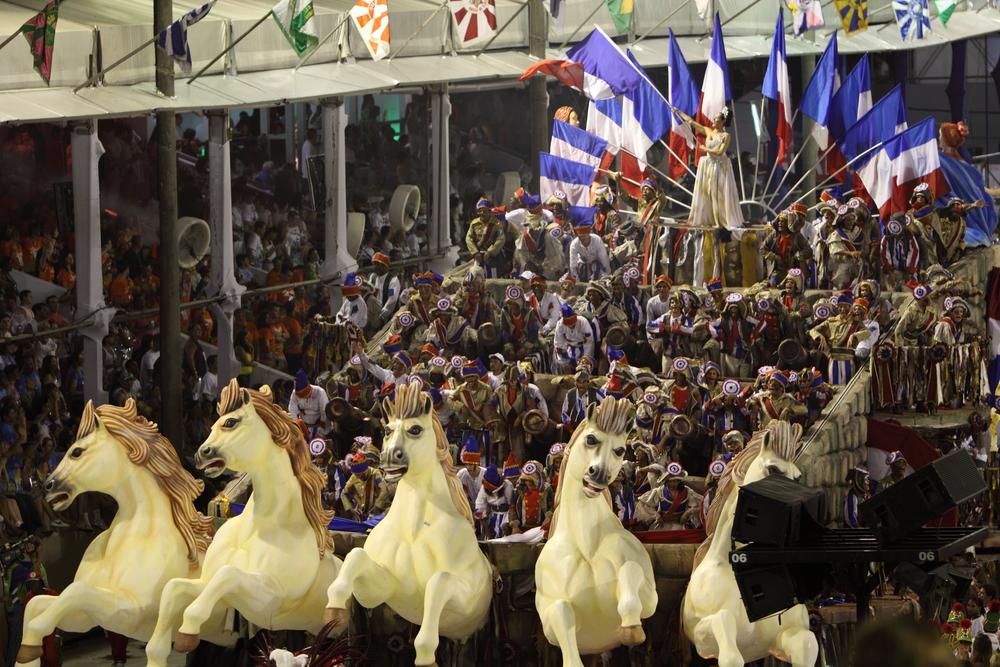 Char révolution française Carnaval Rio