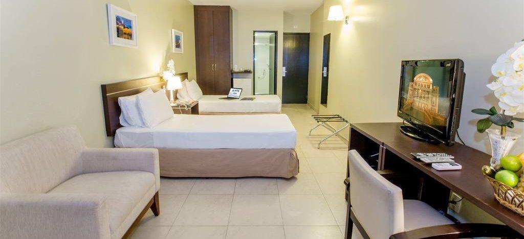 Chambre 2 lits hotel Saint Paul Manaus